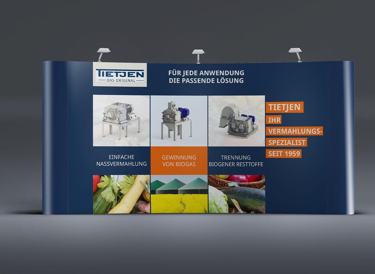 Tietjen Verfahrenstechnik | Mobile Messewand