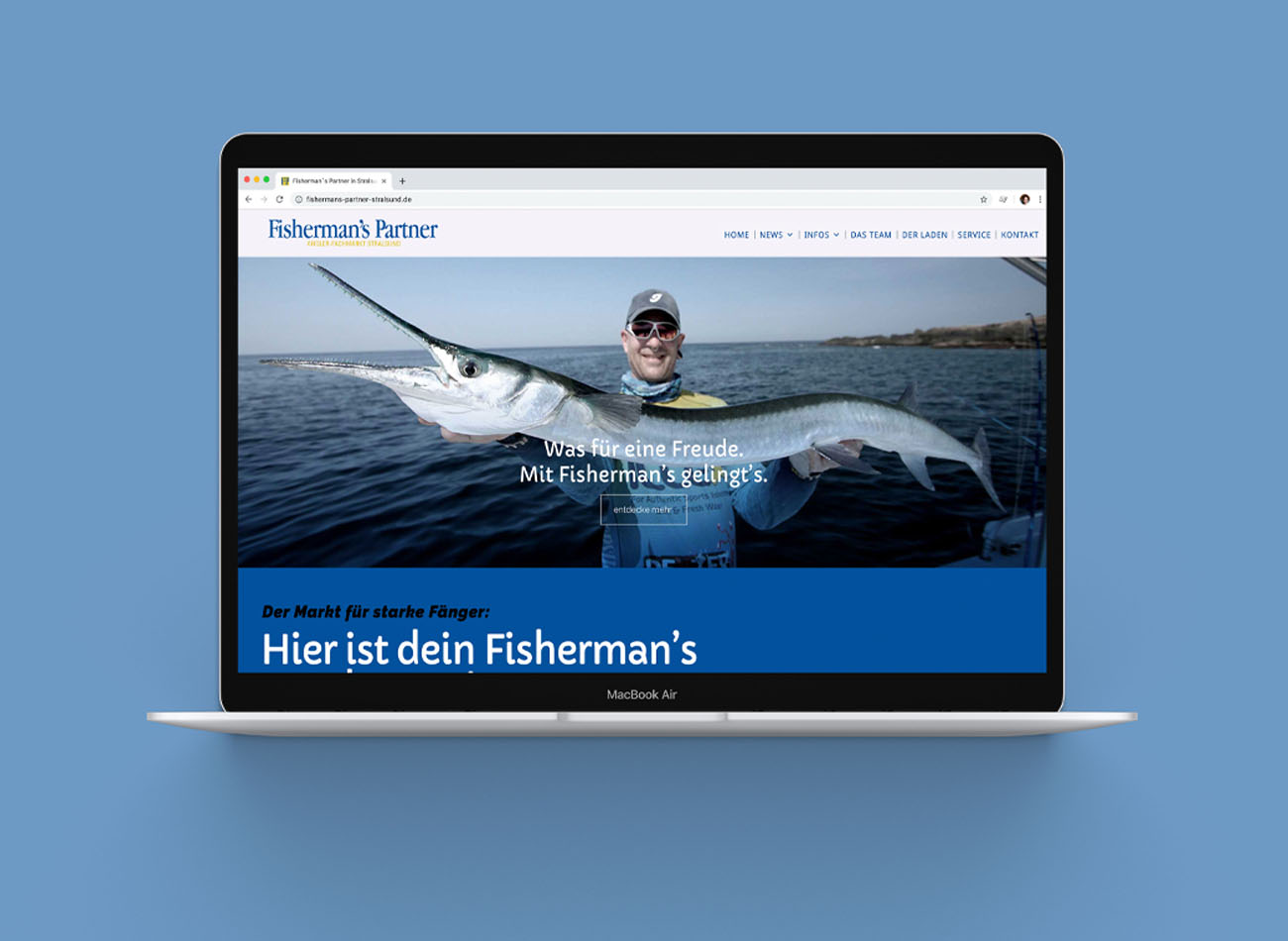Fishermans Partner Stralsund | Webseite