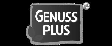 Logo Genuss Plus SW |Designbock